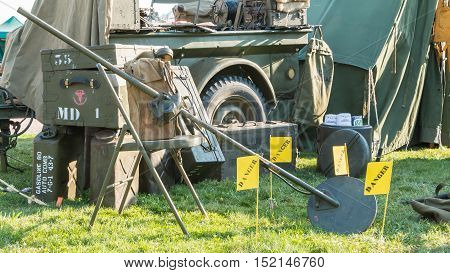 Us Military Mine Detector
