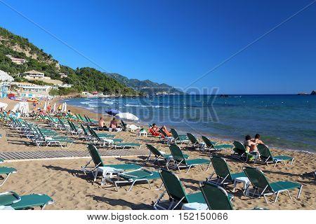 Corfu Beach Tourism