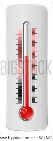 thermometer - vector web icon