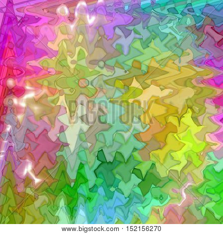 Abstract coloring background of the color harmonies gradient with visual mosaic,spherize,lighting and wave effects
