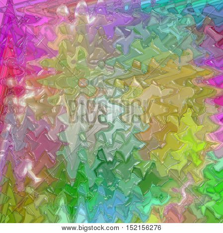 Abstract coloring background of the color harmonies gradient with visual mosaic,spherize,wave and plastic wrap effects