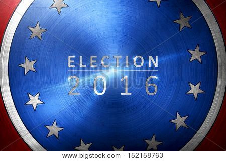 Election 2016 With Election Written With Underline