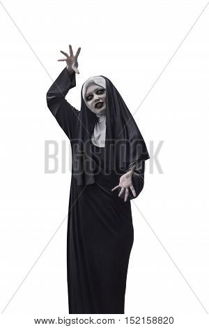Asian Woman Devil Nun