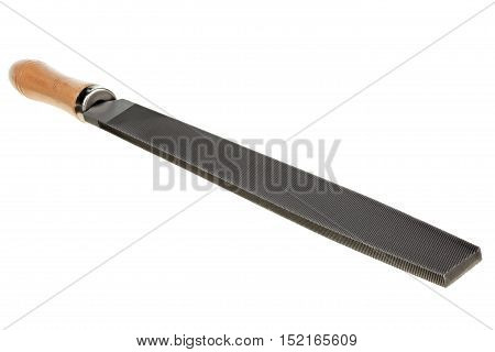 Flat rasp isolated on white background with clipping path