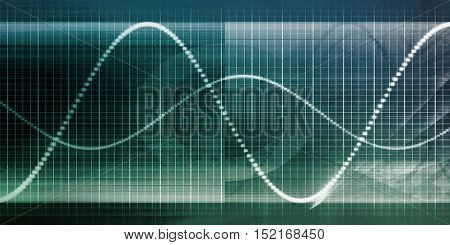 Business Technology Abstract Background as a Concept