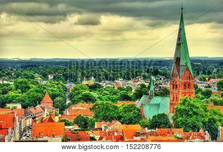 Aegidienkirche, Saint Aegidien church in Lubeck - Germany