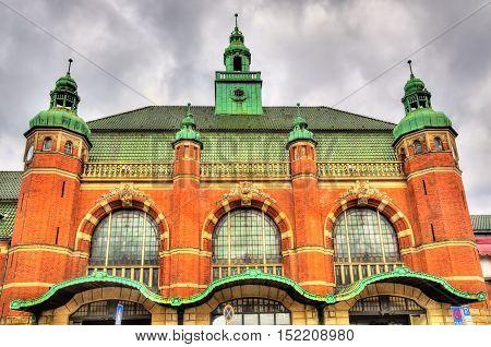 Lubeck Hauptbahnhof, the main railway station of Lubeck - Germany
