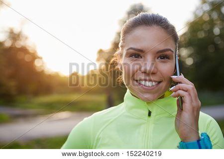Small Break For Phone Talk