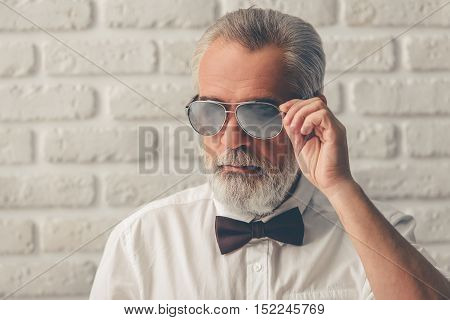 Handsome Stylish Mature Man