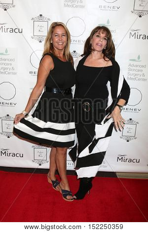 LOS ANGELES - OCT 15:  Erin Murphy, Kate Linder at the BENEV Skincare Event at the Advanced Skincare MedCenter on October 15, 2016 in Los Angeles, CA