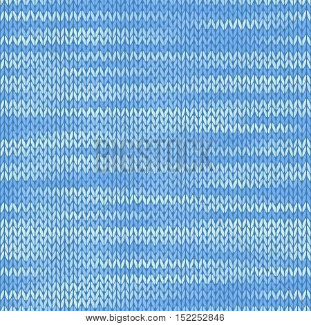 Textile fabric seamless texture. Melange light blue color background.