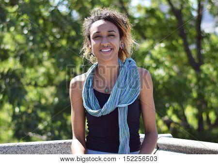 Beautiful Brazilian Mixed Race Girl