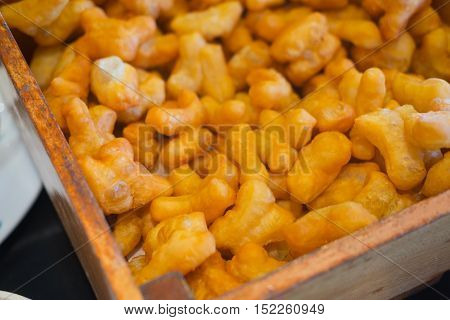 Fried Bread Stick deep-fried dough stick or Patongko is Thai name