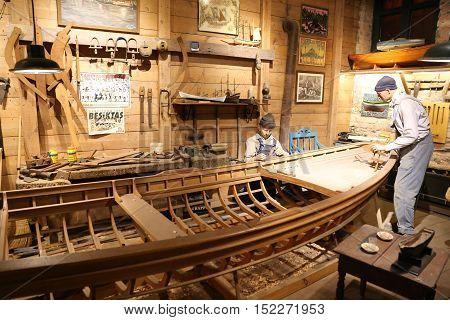 Old Boat Builder Recreation