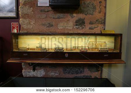 Old Tram Diorama