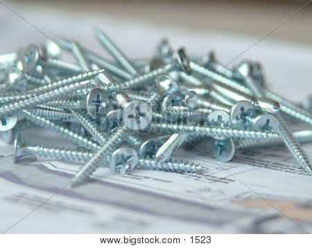 pile of screws poster