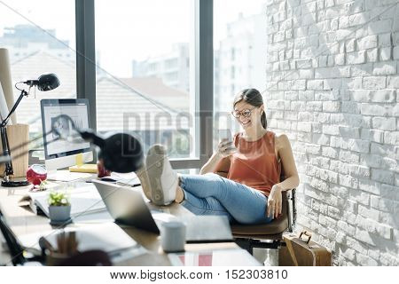 Analysis Casual Chill Reading Book Studying Concept