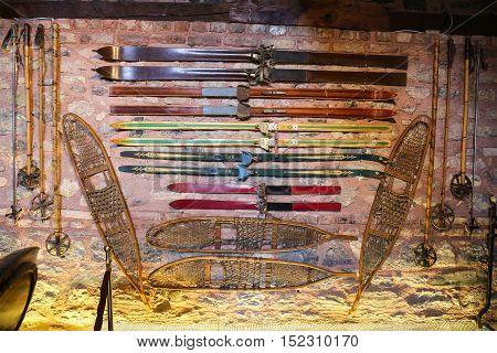 Antique Ski Equipment