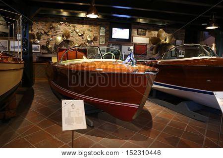 Classic Boats In Koc Museum