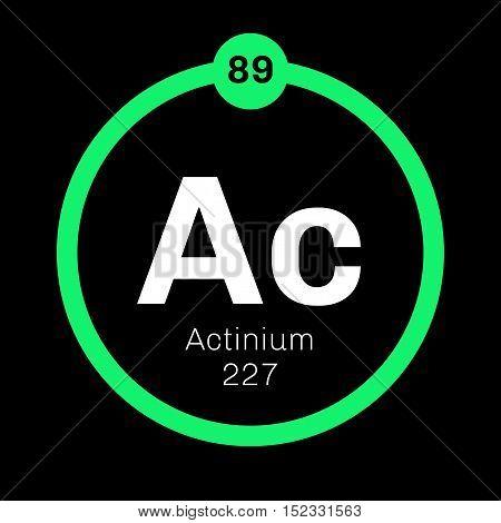 Actinium Chemical Element