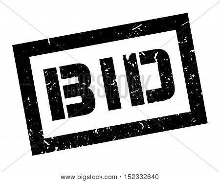 Bid Rubber Stamp