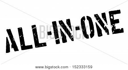 All-in-one Rubber Stamp