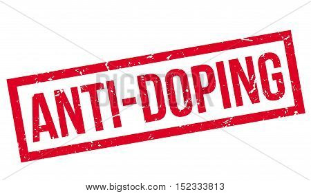Anti-doping Rubber Stamp