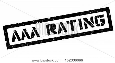 Aaa Rating Rubber Stamp