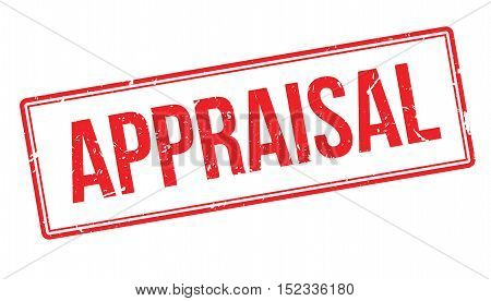 Appraisal Rubber Stamp