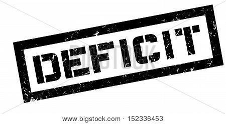 Deficit Rubber Stamp