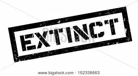 Extinct Rubber Stamp
