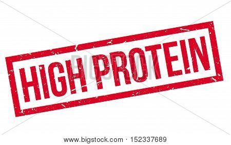 High Protein Rubber Stamp
