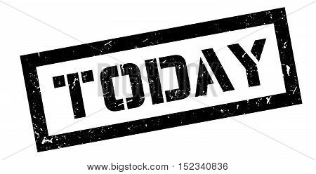 Today Rubber Stamp