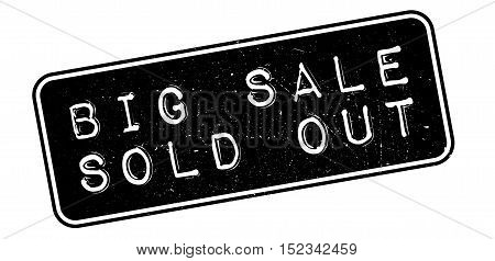 Big Sale Sold Out Rubber Stamp