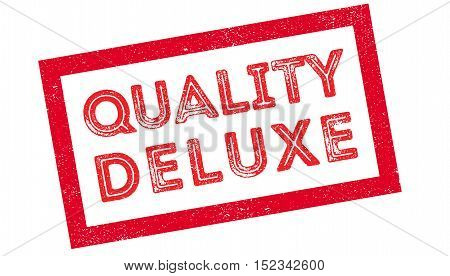 Quality Deluxe Rubber Stamp