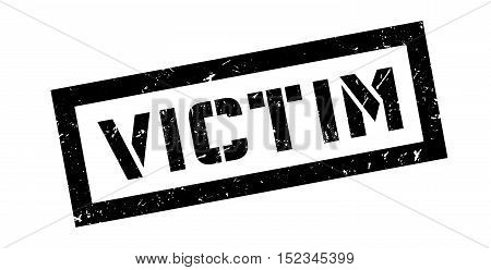 Victim Rubber Stamp