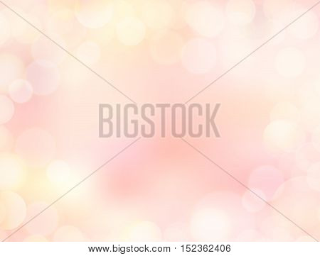 4K resolutions pink gradient blank paper background with bokeh border