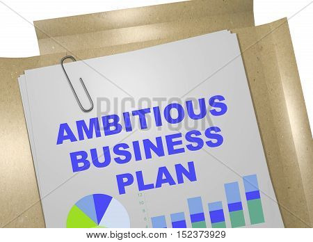 Ambitious Business Plan Concept