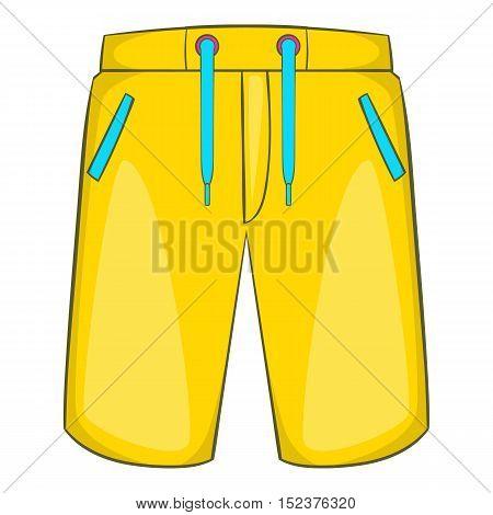 Breeches icon. Cartoon illustration of breeches vector icon for web