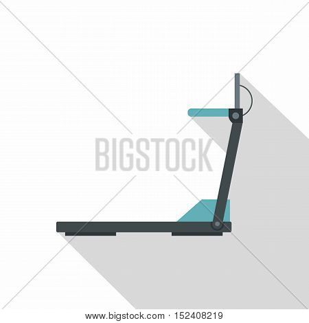 Treadmill icon. Flat illustration of treadmill vector icon for web isolated on white background