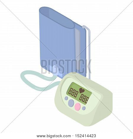 Tonometer icon. Isometric 3d illustration of tonometer vector icon for web