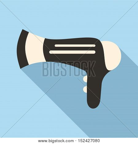 Hairdryer icon. Flat illustration of hairdryer vector icon for web
