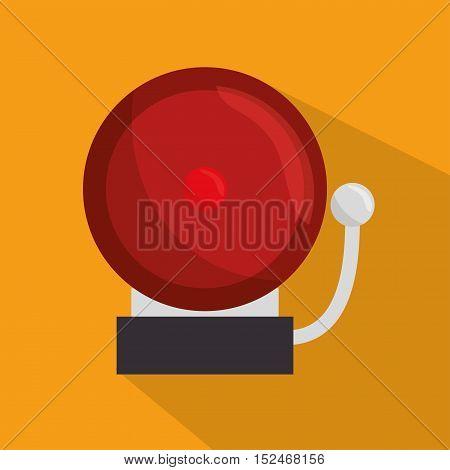 doorbell school ring icon vector illustration eps 10