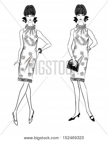 Girl-1960S-15-16-bw
