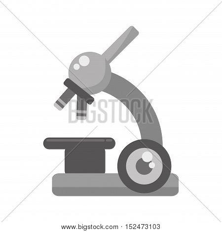 microscope device isolated icon vector illustration design