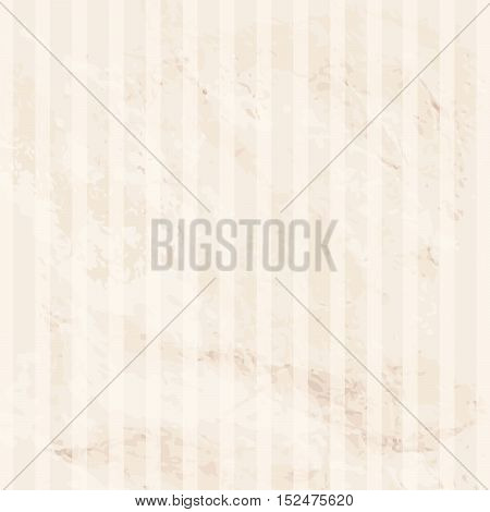 Old paper texture. Striped seamless background. Vintage geometric pattern