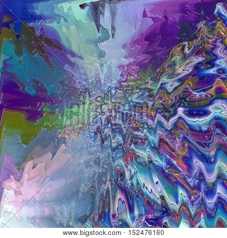 Abstract coloring background of the horizon gradient with visual pagecurl,lighting,wave,pinch,twirl and plastic wrap effects