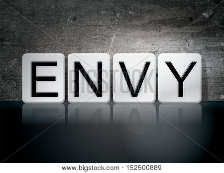 Envy Tiled Letters Concept And Theme