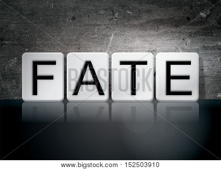 Fate Tiled Letters Concept And Theme