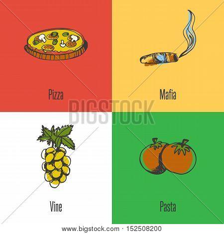 Italy National Symbols Italian Vector Photo Bigstock
